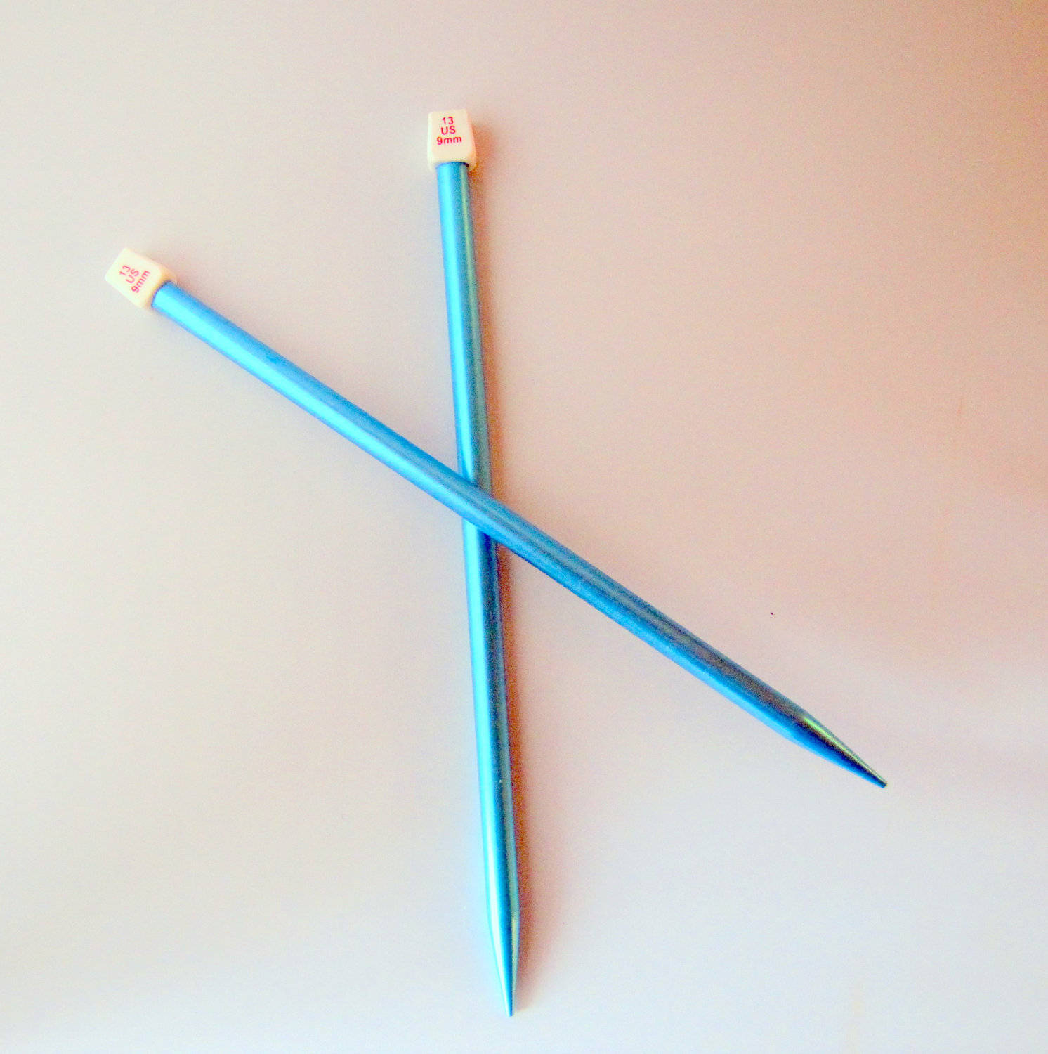 Knitting Needles Not Long Enough : Singer knitting needles size us mm metal on luulla
